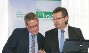 Michael Heugel und Stefan Schmidmeyer (von links)