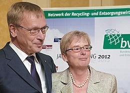 Burkhard Landers (links), Foto: bvse