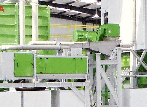 ESTA-Absauganlagen lassen sich problemlos in Recyclingprozesse integrieren (Foto: ESTA Apparatebau GmbH & Co. KG)