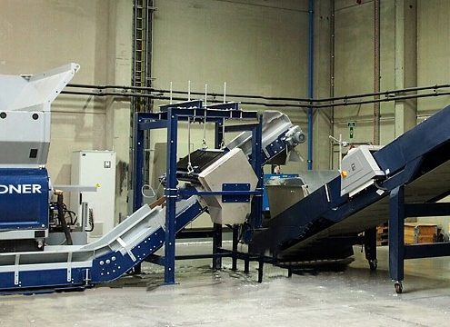 Der Verbund aus Micromat Plus 2000 und Intarema 1714 TVEplus im Einsatz bei Tivaco (Foto: Lindner ReSource)
