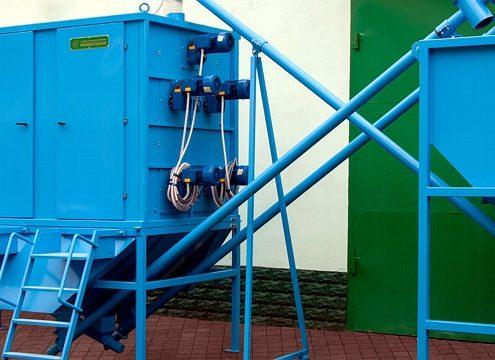 Electrostatic Separation System ESS für 750 kg (Foto: Redoma)