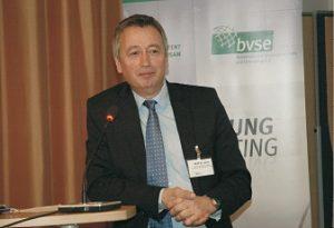 Sprach über mögliche Auswirkungen der Änderungen im EU-Recht: Dr. Andreas Jaron (Foto: bvse)