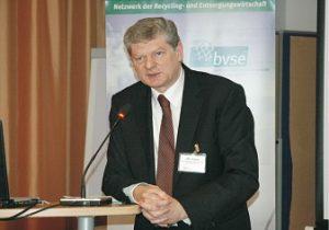 Informierte über REACH und CLP: Dr. Thomas Probst (Foto: bvse)