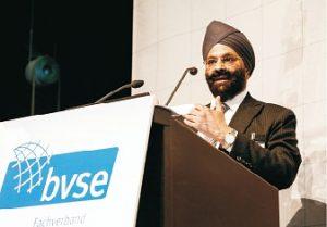 Ranjit Singh Baxi: Für Indien ist 2016 und 2017 ein Wirtschaftswachstum von 7,5 Prozent vorausgesagt (Foto: bvse)