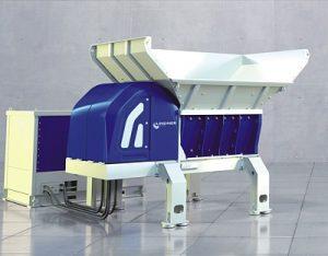Zweiwellenzerkleinerer Atlas (Foto: Lindner-Recyclingtech)