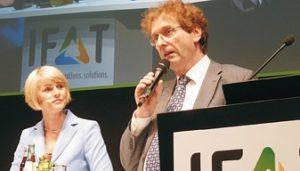 Gundula Gause und Michael Braungart (Foto: Dr. Jürgen Kroll)
