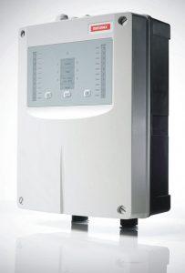 Rauchansaugsystem Helios AMX5000 zur Brandfrüherkennung in  Innenräumen (Foto: Minimax)