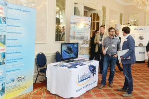 In der Ausstellung wurden nicht nur Produkte des Kunststoffrecyclings gezeigt, sondern auch Techniken, Maschinen und Dienstleistungen vorgestellt (Foto: bvse)