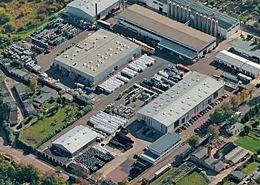 Luftaufnahme vom Standort der Unternehmen (Foto: Multiport)