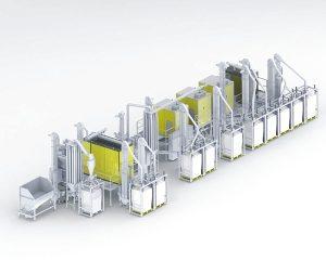hamos KRS Separationsanlage für Kunststoffe aus Elektronikschrott (Abb: hamos)