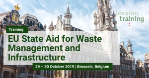 EU State Aid Law for Waste Management and Infrastructure