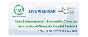 Mass Balance Approach: Sustainability Claims and Incorporation of Chemically Recycled Feedstock